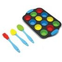 Hillys Kitchen - Mini Cupcake Baking Set