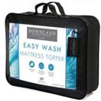 Downland Easy Wash Mattress Topper