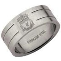 Liverpool FC Stainless Steel Band Ring