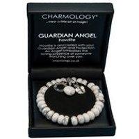 Charmology Guardian Angel Howlite Bracelet
