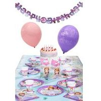 Disney Princess Sofia The First Ultimate Party Kit For 16