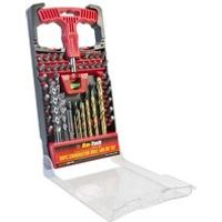 50-Piece Combination Drill And Bit Set