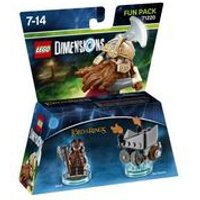 LEGO Dimensions - Lord Of The Ring Gimli Fun Pack