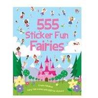 555 Sticker Fun-Fairies