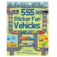 555 Sticker Fun-Vehicles