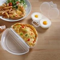 Microwave Egg Poacher and Omelette Set