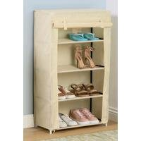 4-Tier Shoe Covered Rack