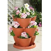 Stackable 3-Tier Flower Stand