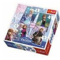 Disney Frozen 4-In-1 Puzzle