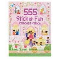 555 Sticker Fun - Princess Palace