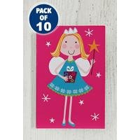10 Pink Fairy and Elf Gift Tags