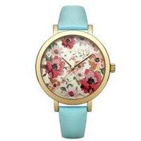 oasis ladies printed dial watch