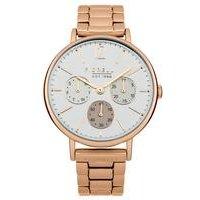 fiorelli ladies bracelet watch with white multi dial