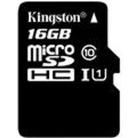 Kingston 16GB Micro SD Memory Card