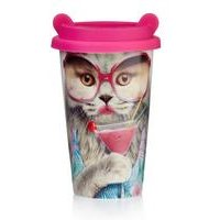 Cat Coffee Travel Cup