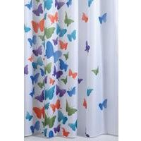Butterfly Bright Shower Curtain