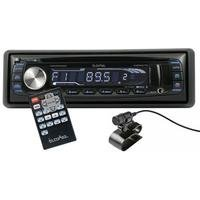 In Phase Bluetooth Car Stereo with Remote Control