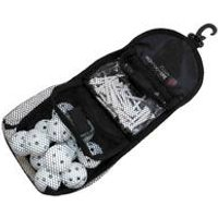 Colin Montgomerie Golf Accessory Bag + Balls and Tees