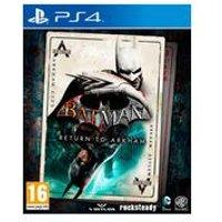 PS4: Batman: Return to Arkham