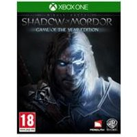 Xbox One: Middle Earth Shadow Of Mordor Game Of The Year Edition