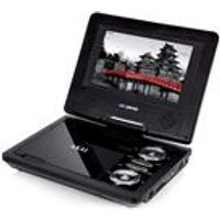 "Akai 10"" Portable DVD Player with 2-in-1 Carry Bag"