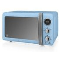 Swan Retro Digital Microwave