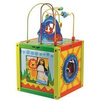 Large Wooden 5 In 1 Activity Cube