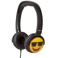 Groov-e EarMOJI Cool Face Headphones