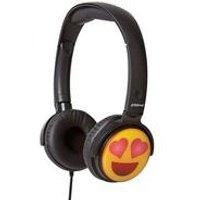 Groov-e EarMOJI Headphones - Love Heart Eyes