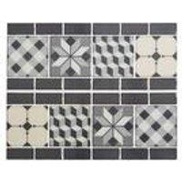 Pack Of 6 3D Border Tiles
