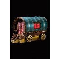 Solar Light Gypsy Rose Caravan
