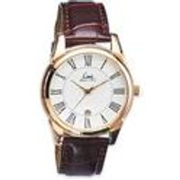 gents limit rose gold watch