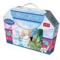 50 Piece Glam Puzzle - Anna & Elsa