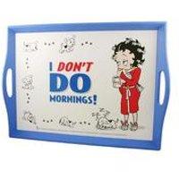 Betty Boop Don't Do Mornings Lap Tray