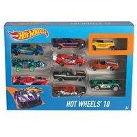 Mattel Hot Wheels 10 Car Gift Set