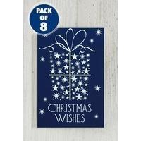 8 Self-Adhesive Christmas Wishes Gift Tags