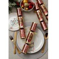 6 Santa Christmas Crackers
