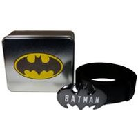 Batman Logo Buckle Belt In A Tin