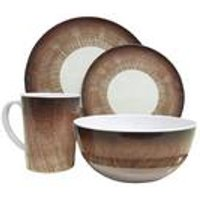 Stone Design 16-piece Melamine Dining Set