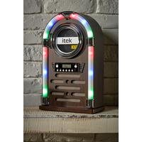 itek Mini CD Jukebox With Bluetooth
