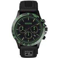 mens black chronograph watch