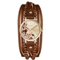 womens suede multi thong watch
