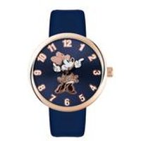 minnie mouse large dial watch  navy