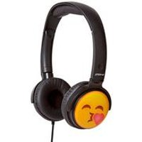 Groov-e EarMOJI Headphones Throwing a Kiss