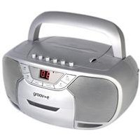 Groove-e Boombox CD and Cassette Player