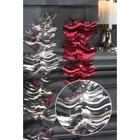 Set Of 2 x 3m Foil Decorating Tinsel