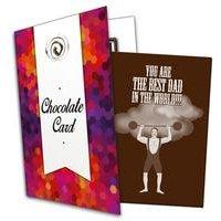Best Dad Chocolate Card