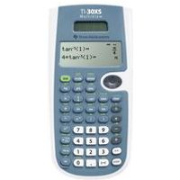 TI Solar Scientific Calculator 30XS