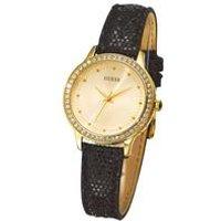 ladies guess chelsea black watch