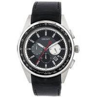 dkny gents nolita chronograph watch